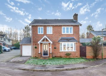 Thumbnail 4 bedroom detached house for sale in Martins Drive, Hertford
