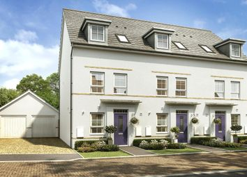 "Thumbnail 3 bed terraced house for sale in ""Padstow"" at Kergilliack Road, Falmouth"