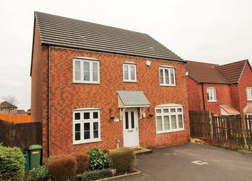 Thumbnail 4 bed detached house for sale in Llewellyns View, Gilfach Goch, Porth