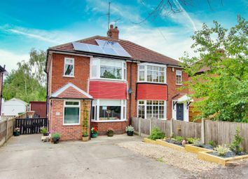 Thumbnail 3 bedroom semi-detached house for sale in Eakring Road, Mansfield