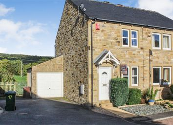 Thumbnail 2 bed semi-detached house for sale in Birkdale Court, Low Utley, Keighley, West Yorkshire