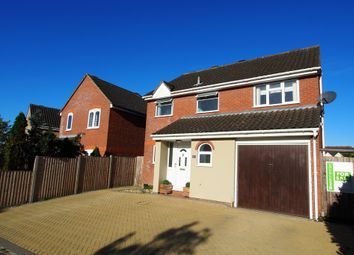 Thumbnail 4 bedroom detached house for sale in Barnham Broom Road, Wymondham, Norfolk
