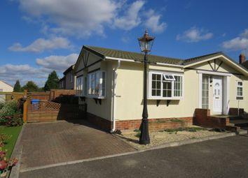 Thumbnail 2 bed mobile/park home for sale in Chantry Home Farm, Lavenham Road, Ipswich