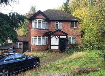 Thumbnail 4 bed detached house for sale in Tithepit Shaw Lane, Warlingham