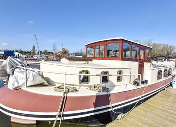 Thumbnail 2 bed houseboat for sale in Staines Road, Chertsey