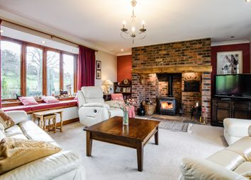 Thumbnail 5 bed detached house for sale in Aberhafesp, Newtown, Powys