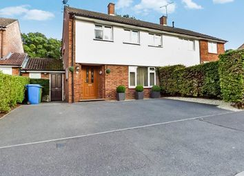 Thumbnail 3 bed semi-detached house for sale in Staverton Close, Bracknell