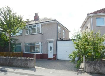 Thumbnail 3 bed semi-detached house for sale in Brendjean Road, Morecambe