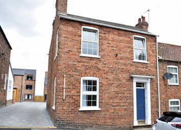 Thumbnail 3 bed town house for sale in Chapel Street, Caistor, Market Rasen