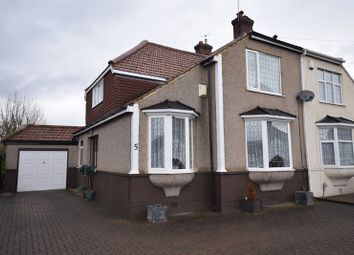 Thumbnail 3 bed semi-detached house for sale in Bedonwell Road, Bexleyheath, Kent