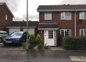 Thumbnail 3 bed semi-detached house for sale in Woodstock Drive, Cannock, Staffordshire