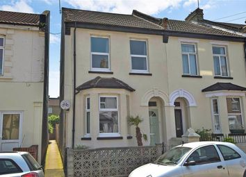 Thumbnail 3 bed end terrace house for sale in Rochester Avenue, Rochester, Kent