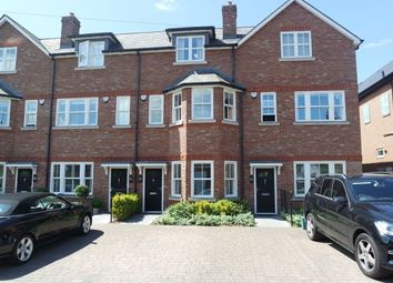 Thumbnail 4 bed terraced house to rent in Warren Close, Esher
