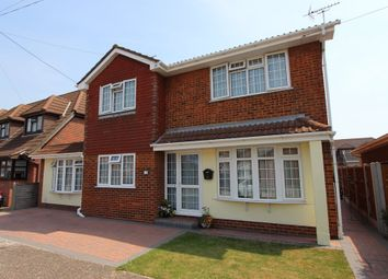 Thumbnail 4 bed detached house for sale in Green Avenue, Canvey Island