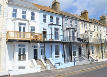 Thumbnail 3 bedroom flat for sale in West Parade, Hythe