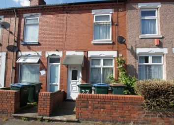 Thumbnail 2 bedroom terraced house for sale in Hamilton Road, Stoke, Coventry