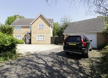 Thumbnail 4 bed detached house for sale in Hadrian Drive, Baston, Peterborough