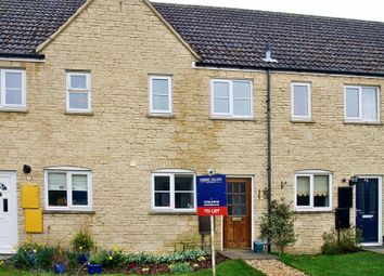 Thumbnail 2 bed terraced house to rent in Perrinsfield, Lechlade