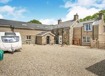 Thumbnail 4 bed detached house for sale in Rhoslan, Criccieth, Gwynedd