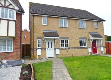 Thumbnail 3 bed semi-detached house for sale in Baird Close, Yaxley, Peterborough