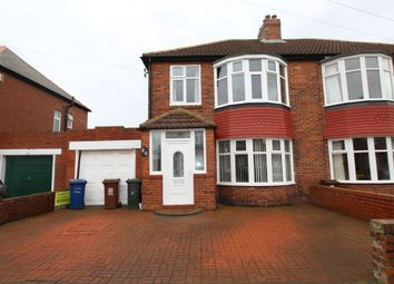 Thumbnail 3 bed semi-detached house to rent in Yewtree Gardens, Newcastle Upon Tyne