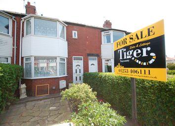 Thumbnail 3 bedroom terraced house for sale in Penrose Avenue, Blackpool, Lancashire