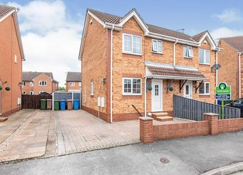 Thumbnail 3 bed semi-detached house for sale in Broompark Road, Goole