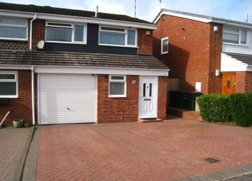 Thumbnail 3 bed semi-detached house for sale in Abbeydale Close, Binley, Coventry