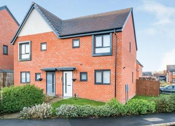 Thumbnail 3 bed semi-detached house for sale in Worsley Close, Castlefields, Runcorn, Cheshire