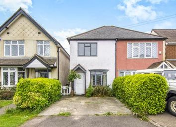 Thumbnail 3 bed end terrace house for sale in Thornwood, Epping, Essex