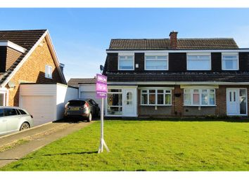 Thumbnail 3 bed semi-detached house for sale in Scotforth Close, Marton