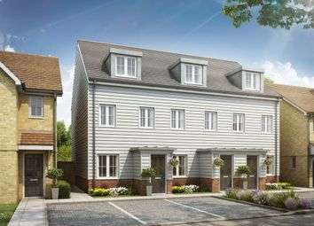 "Thumbnail 3 bed terraced house for sale in ""The Souter"" at Rattle Road, Stone Cross, Pevensey"