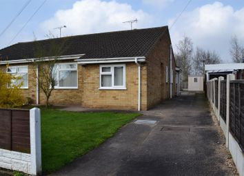 Thumbnail 3 bed semi-detached bungalow for sale in Winchester Drive, Linton, Swadlincote