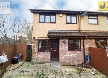Thumbnail 1 bed terraced house to rent in Willowturf Court, Bryncethin, Bridgend