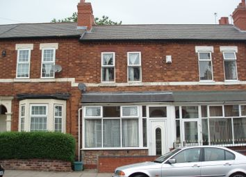 Thumbnail 3 bed terraced house for sale in Newcombe Road, Handsworth