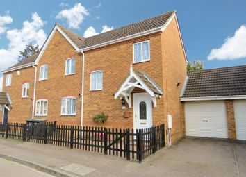 Thumbnail 3 bed semi-detached house for sale in York Close, Biggleswade, Bedfordshire