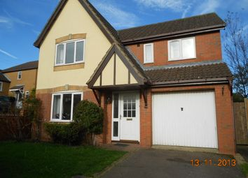 Thumbnail 4 bed detached house to rent in Hilltop Drive, Oakham