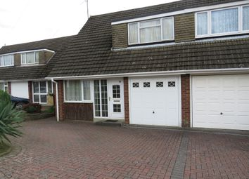Thumbnail 3 bedroom semi-detached house for sale in Hoylake Drive, Northampton