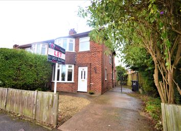 Thumbnail 3 bed semi-detached house to rent in Hardy Road, Wheatley, Doncaster