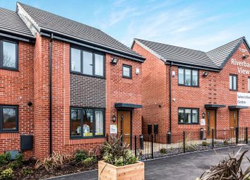 Thumbnail 3 bedroom semi-detached house for sale in Riverbank View, Littleton Road, Salford