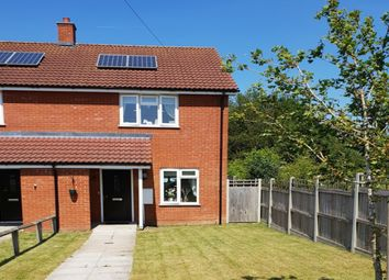 Thumbnail 2 bed semi-detached house for sale in Churchway, Redgrave
