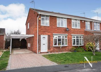 3 bed semi-detached house for sale in Northumbria Drive, Retford, Nottinghamshire DN22