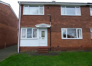 Thumbnail 3 bed semi-detached house for sale in Creslow, Gateshead
