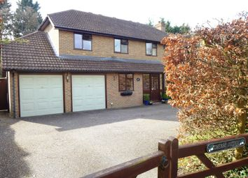 Thumbnail 4 bed detached house for sale in Meadow Lane, Hartley Wintney, Hook