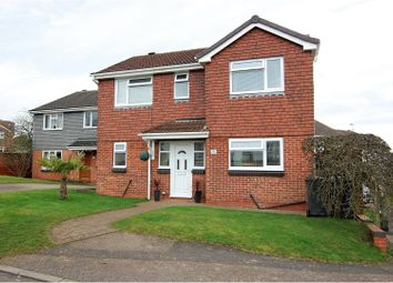 Thumbnail 4 bed detached house for sale in Water Orton Close, Toton