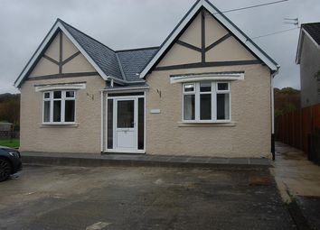Thumbnail 2 bed detached bungalow to rent in Folland Road, Glanamman, Ammanford
