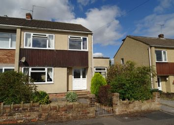 Thumbnail 3 bed end terrace house to rent in Colston Close, Winterbourne Down, Bristol