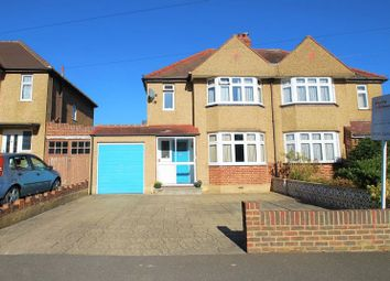 Thumbnail 3 bed semi-detached house for sale in Selwood Road, Chessington
