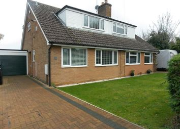 Thumbnail 3 bed semi-detached house to rent in Willow Crescent, Great Houghton, Northampton