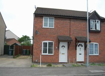 Thumbnail 2 bed semi-detached house to rent in Lindley Close, Old Catton, Norwich
